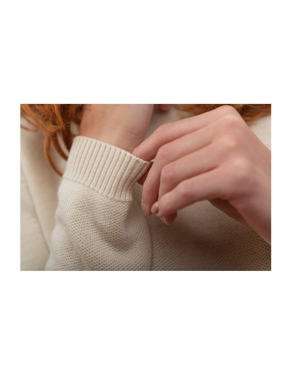 FW 20 - Capture the Fog - knitwear in organic wool fabric natural dye DALHIA