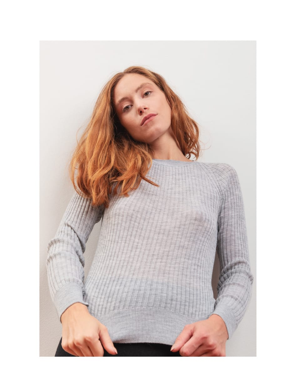 FW 20 - Capture the Fog - knitwear in New Zealand wool fabric ROSE
