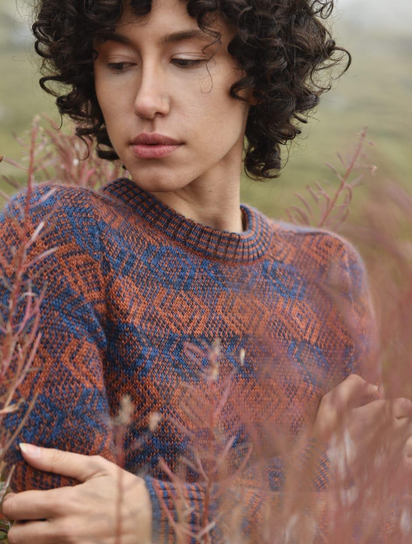 FW 20 - Capture the Fog - handmade knitwear in wool and mohair fabric GYPSOPHILA