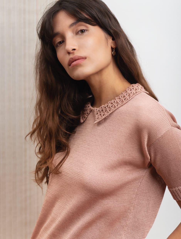 filo di scozia, organic cotton knitwear