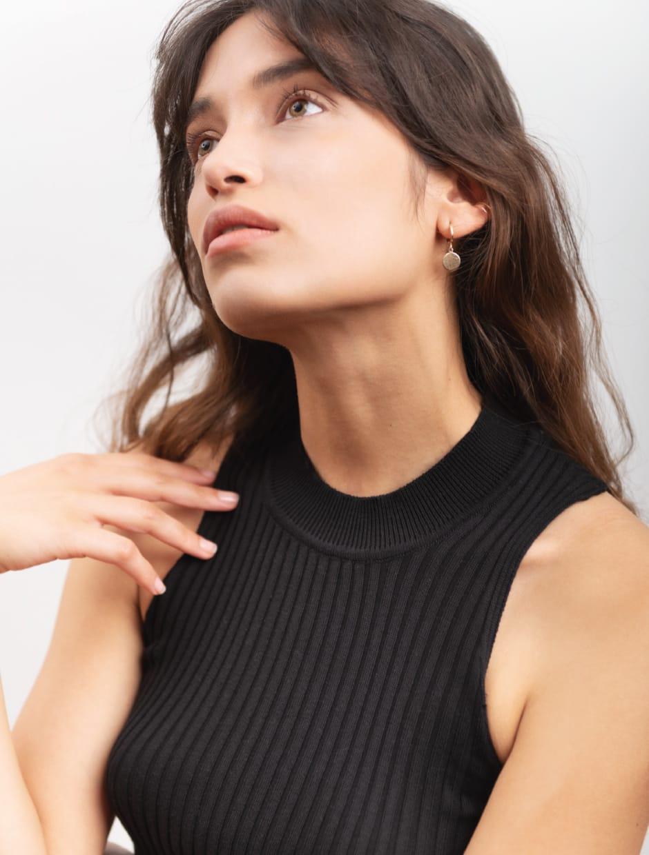 knitwear top organic cotton