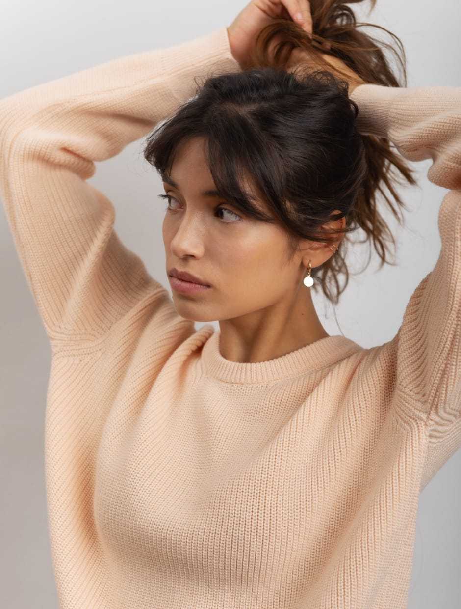 organic cotton knitwear made in italy