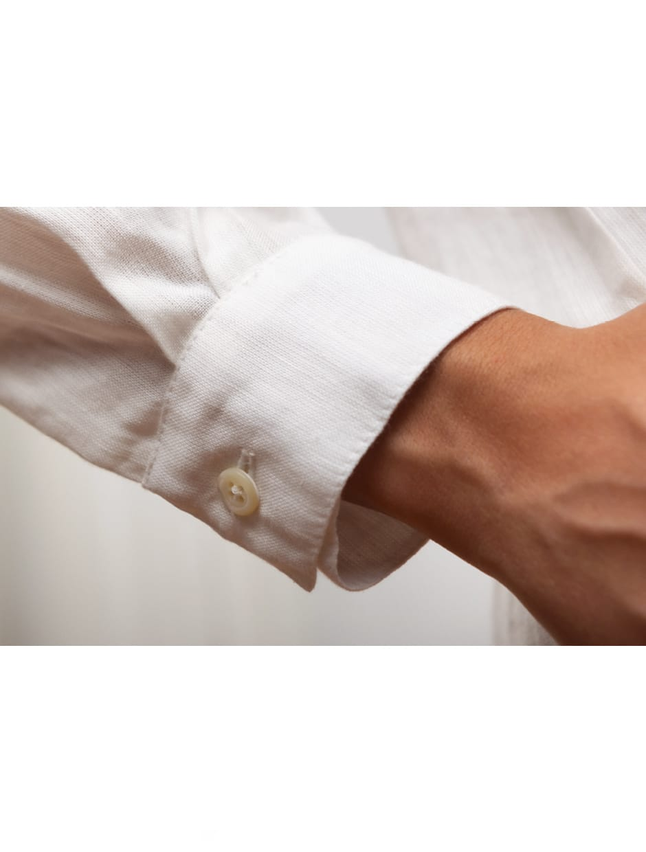 organic cotton shirt white color